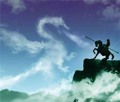 cavaliere-drago